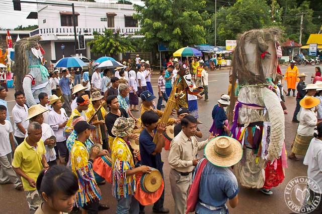 A Day in Dan Sai - Phi Ta Khon Festival