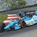 Simon Pagenaud dives through the Keyhole Turn (Turn 2) at Mid-Ohio