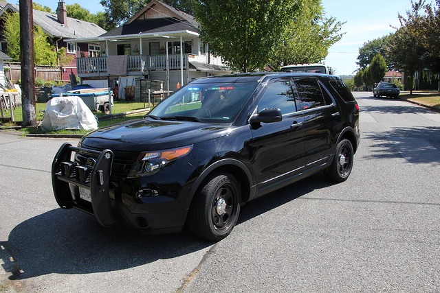 Vancouver Police Unmarked Ford Utility | Flickr - Photo ...