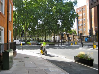 Cross over Crowndale Road