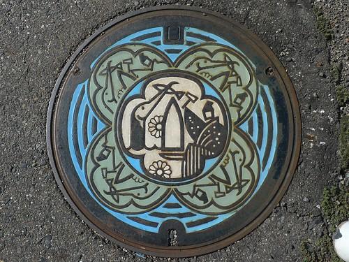 Seki Gifu , manhole cover (岐阜県関市のマンホール)