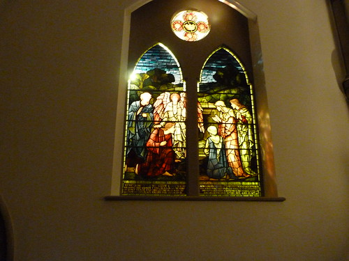 South transept window: the Resurrection - 1906