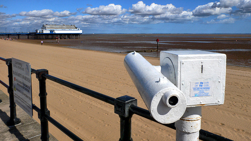 Telescope Series - No 2 Cleethorpes Pier