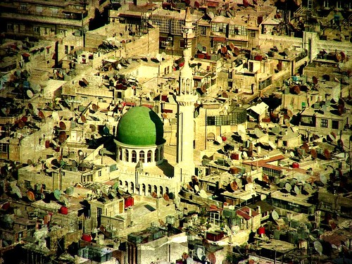 city texture town view stadt syria damaskus syrien moschee textur effecte roba66 robatop syrienjordanien2010