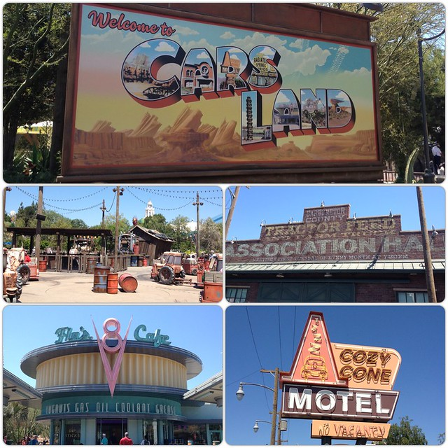 [PIC] We really enjoyed #CarsLand @DCAToday @Disneyland. Will have to return tonight/tomorrow. #DisneylandCA