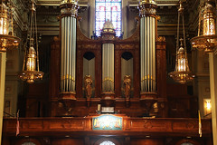 altar, cathedral, place of worship, church, organ,