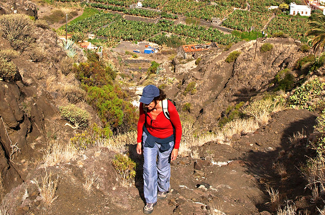 Walking from Hermigua, La Gomera
