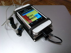iPhone 4S + Sony PHA-1