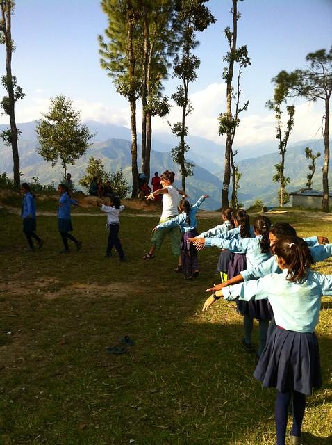 Nepal classroom