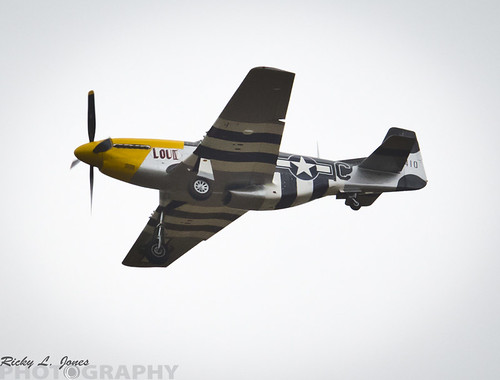 P-51 Mustangs Flying Dirty over Racine/ Kenosha by Ricky L. Jones Photography