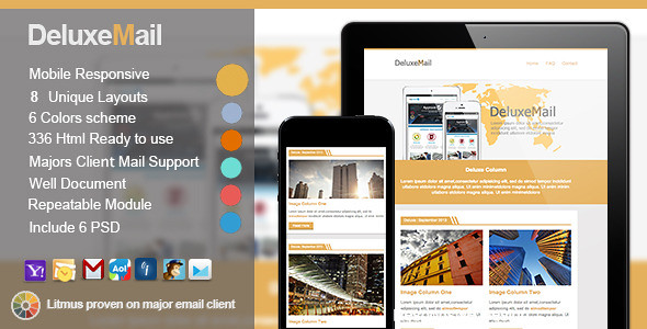 Deluxe Responsive Email Template