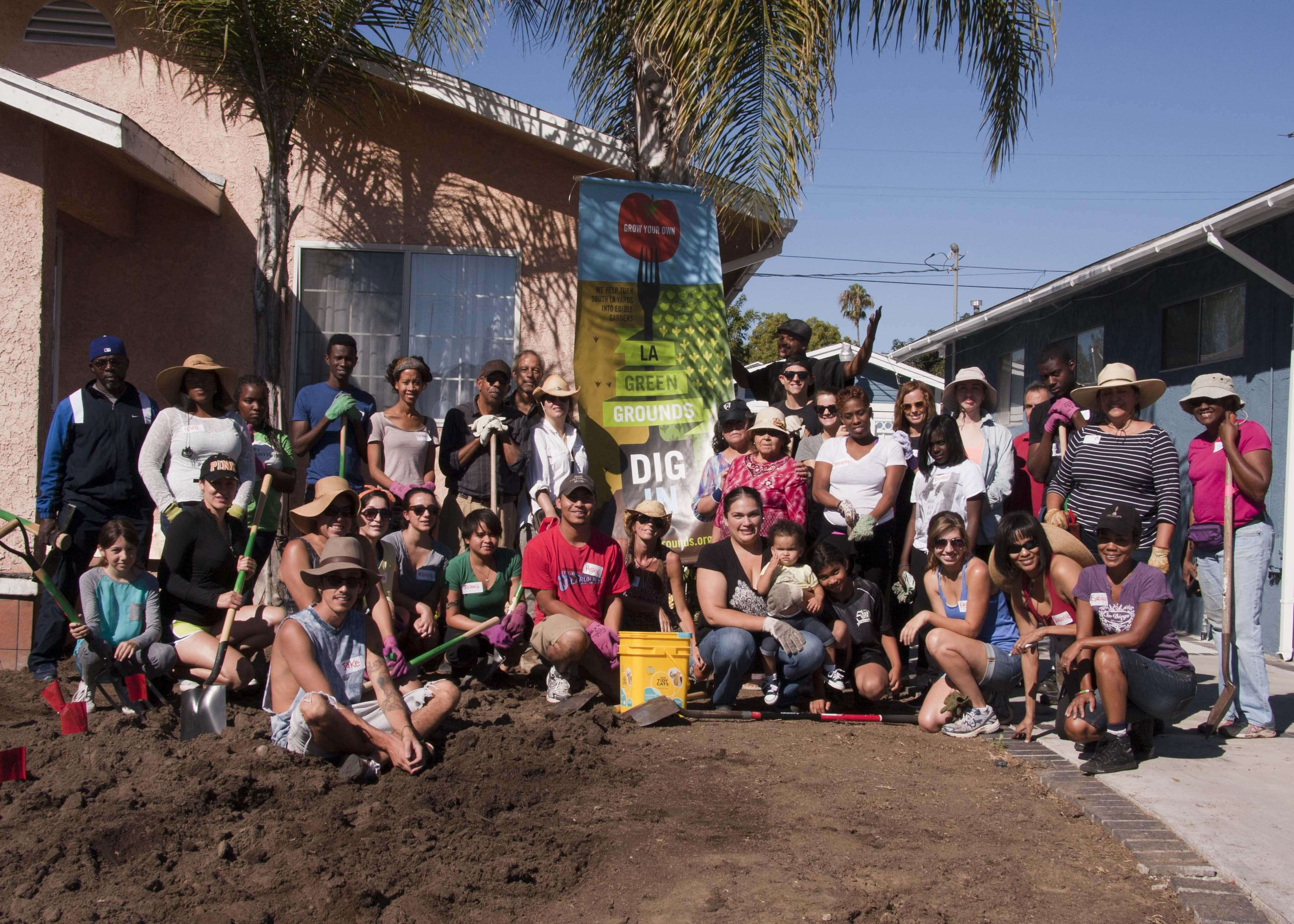 Rimpau St. Dig-in Sept. 28, 2013