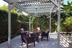 backyard, outdoor structure, property, pergola, gazebo, patio,