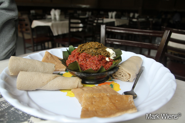 10246492525 0ffba6a4f8 o Ethiopian kitfo, raw beef that will melt in your mouth