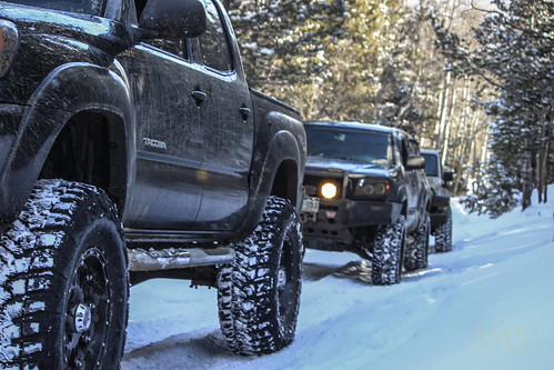Winter driving - Toyota Tacoma Truck