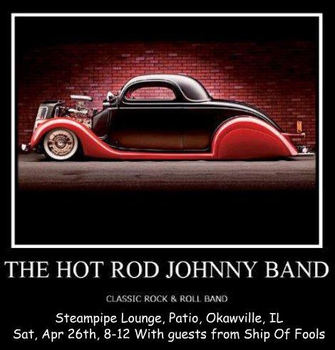 Hot Rod Johnny Band 4-26-14