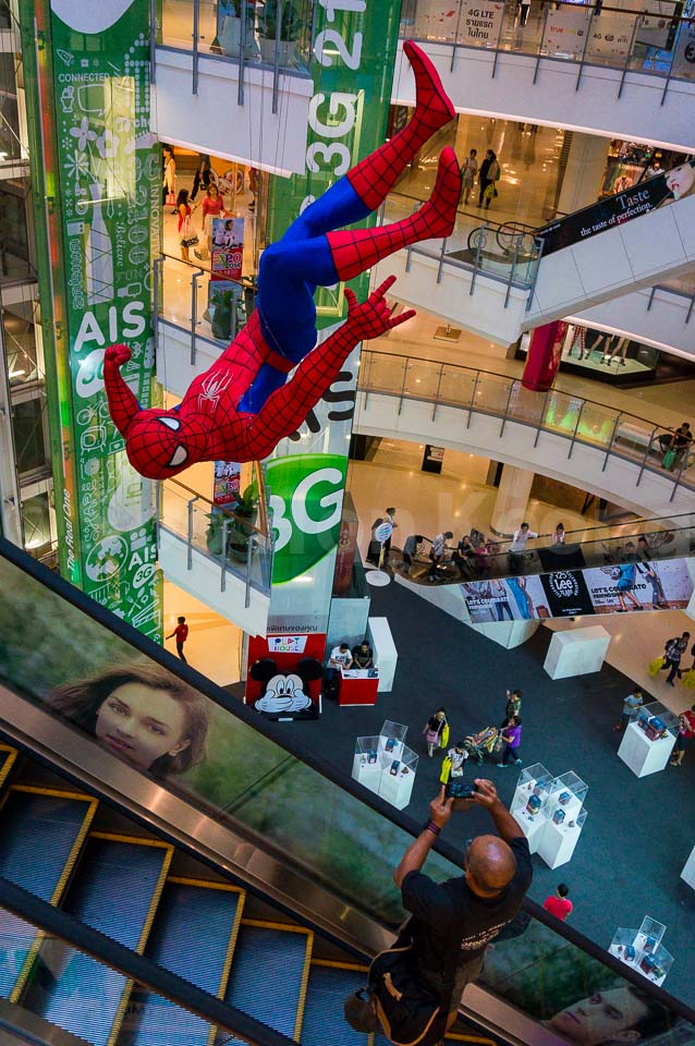 Spiderman @ Bangkok, Thailand