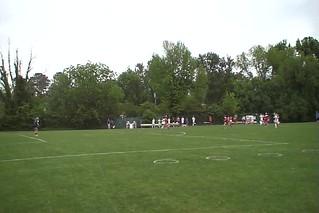 TCIS Winning Goal. Ann Burns Crosses, Sarah Scores