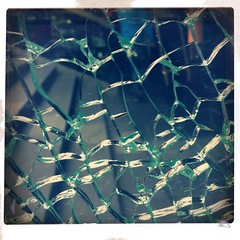 I love the sound of breaking glass.         Especially when I'm lonely.                        I need the noises of destruction.                 When there's nothing new ~ Nick Lowe ~