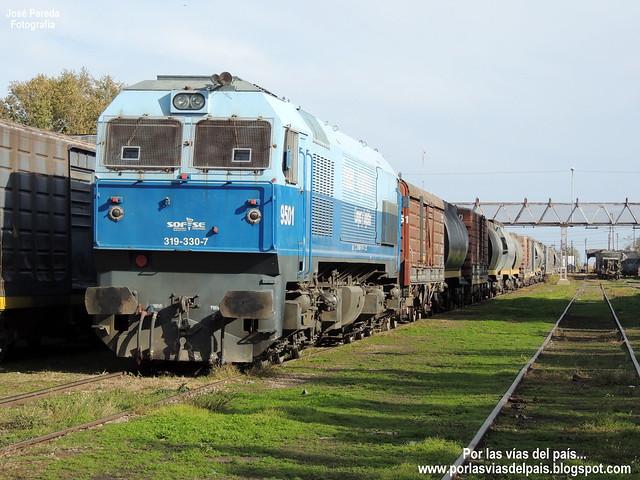 GM J26CW 319.330-7 (9501) EN ESTACIÓN RUFINO