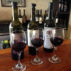 Red Wine Flight!
