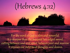 Hebrews 4:12 nlt