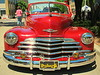 Vintage Chevrolet lowrider, Open Streets on West Magnolia Avenue on April 19