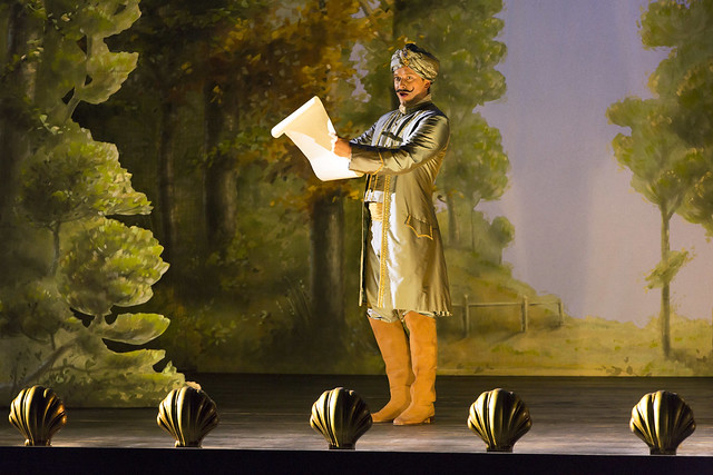 Daniel Behle as Ferrando in Jan Philipp Gloger's Così fan tutte © 2016 ROH. Photograph by Stephen Cummiskey