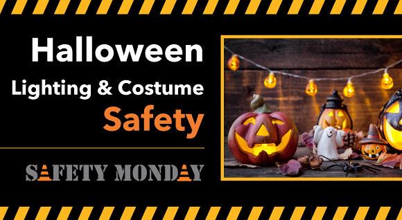 Halloween Lighting and Costume Safety Hero