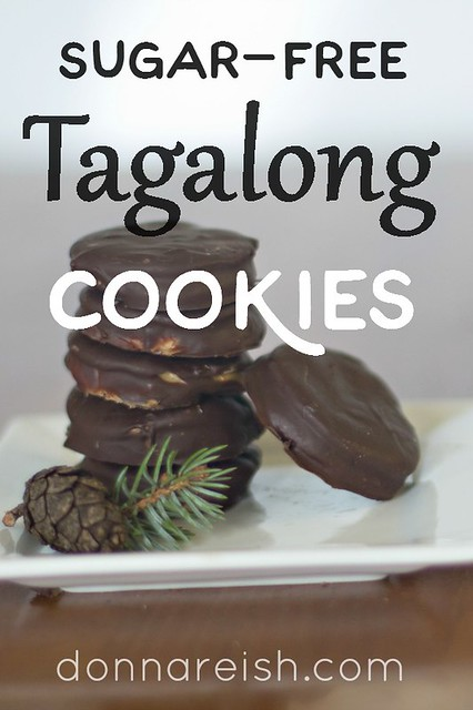 Sugar-Free Tagalong Cookies