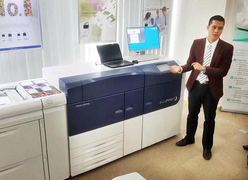 Fuji Xerox Việt Nam ra mắt loạt máy in kết nối điện toán đám mây