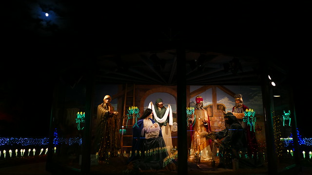 oglebay christmas lights nativity scene - Oglebay Park Christmas Lights