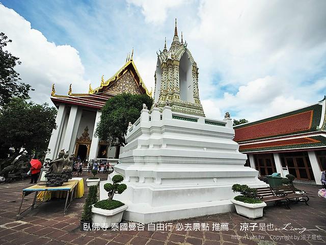 臥佛寺 泰國曼谷 自由行 必去景點 推薦 45