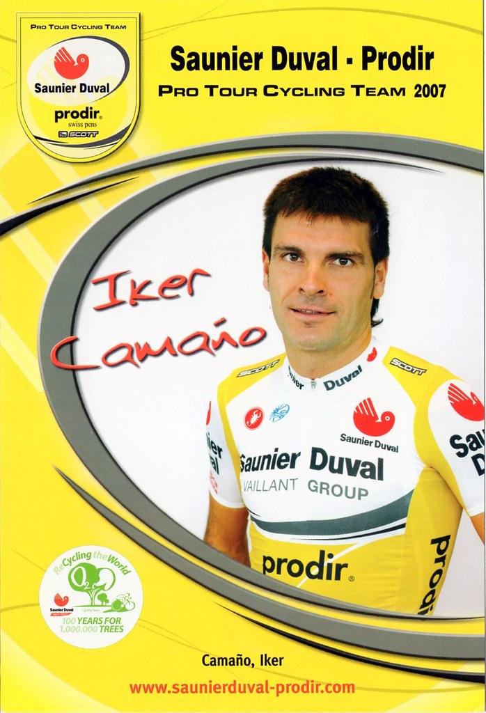 Iker Camano - Saunier Duval Prodir 2007