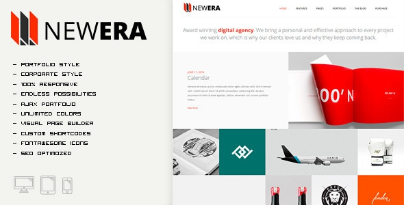 NEWERA 2.0 - Smart Portfolio and Business Theme