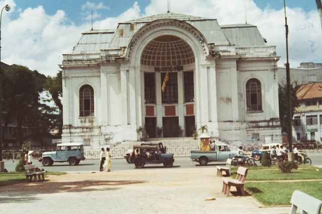 National Assembly Building, Saigon 1971