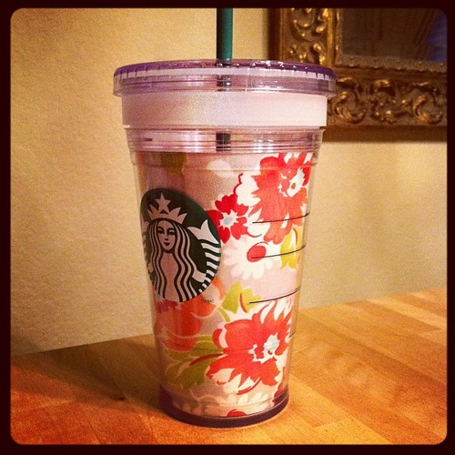 Added a little Ruby to my Starbucks cold cup.