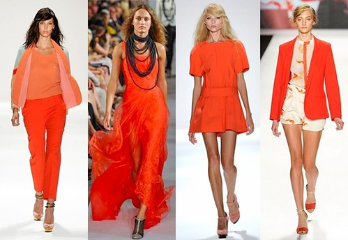 Orange Trend for Spring 2012