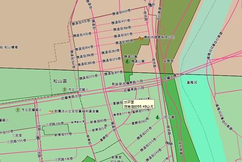 民生社區詳細路段限建高度