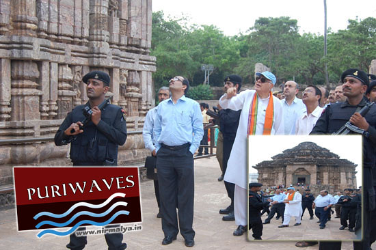 Union minister Dr Farooq Abdullah has visited Sun Temple Konark
