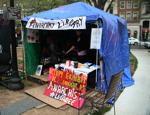 Anarchist Library, Occupy DC, March 31, 2012