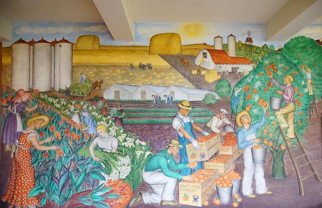 2012 03 28 03 29 san francisco 055 telegraph hill coit for Coit tower mural