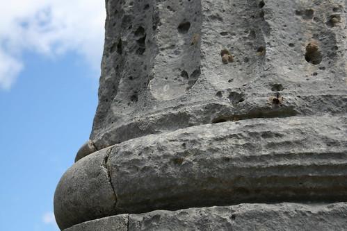 Santuario di Marasà - Colonna del Tempio