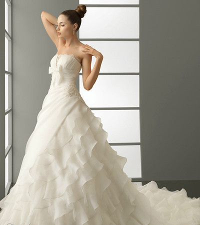 backless ball gown wedding dress-3