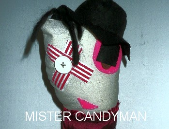 Scrapling Mr Candyman by Sock Monkeygang