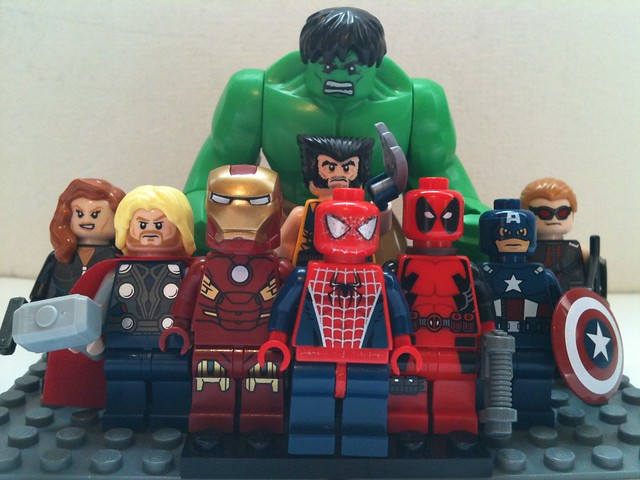 The Lego Heroes of Marvel