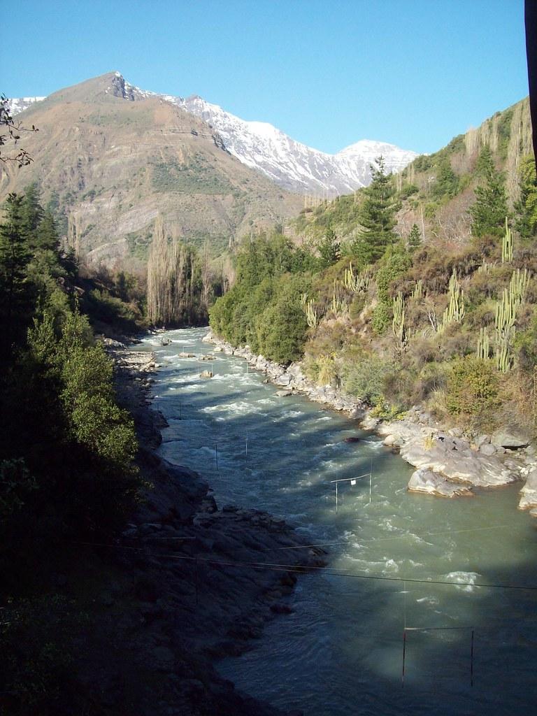 El río Maipo, Chile