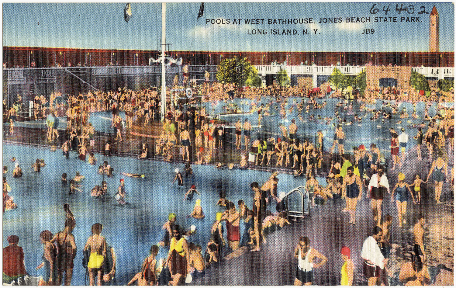 Pools At West Bathhouse Jones Beach State Park Long Island N Y Flickr Photo Sharing