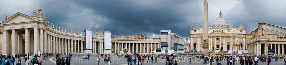 Saint Peter's Basilica @ Rome, Italy