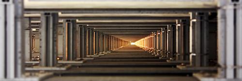 Interior de la Estela de Luz